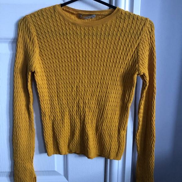 Zara Knit long sleeve top.